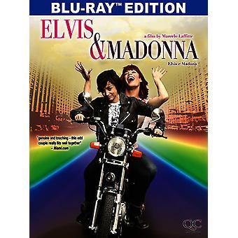 Elvis och Madonna [Blu-ray] USA import