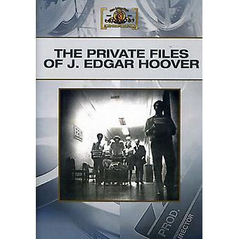 Privé dossiers van J. Edgar Hoover [DVD] USA import