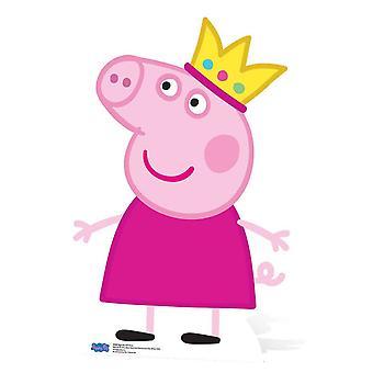 الأميرة بيبا الخنزير من الورق المقوى قطع / ستاندي / ستاندب / ستاندي