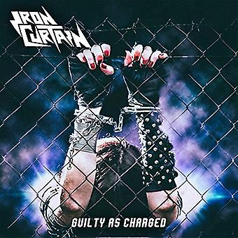 Iron Curtain - Guilty as Charged [CD] USA import