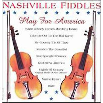 Nashville Fiddles - Play for America [CD] USA import