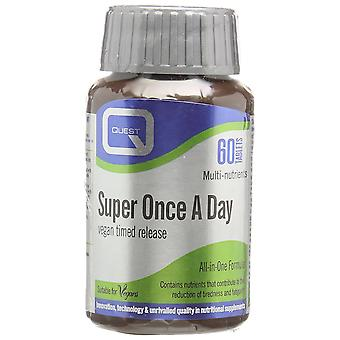Quest Super Once-a-Day Vegan Timed Release, 60 tablets