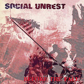 Social Unrest - Before the Fall [Vinyl] USA import
