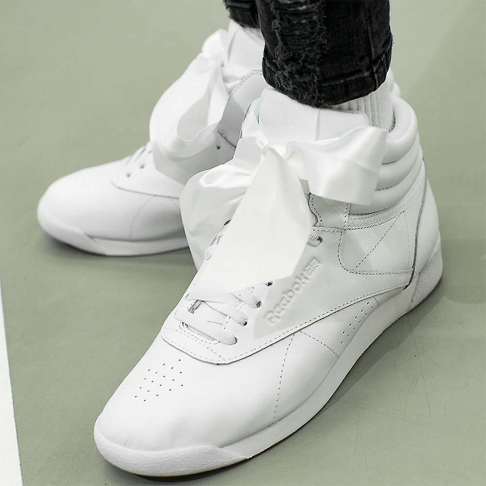 Reebok Freestyle High Satin Bow CM8903 universel toutes les chaussures de femmes de l'année rnhf3I