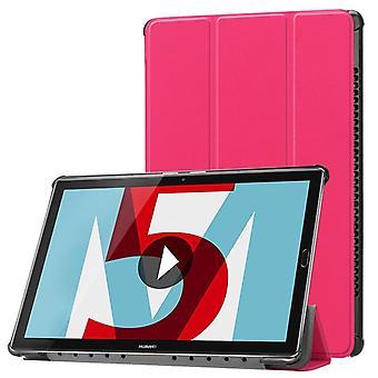 Premio custodia intelligente copertina rosa per Huawei MediaPad M5 10.8