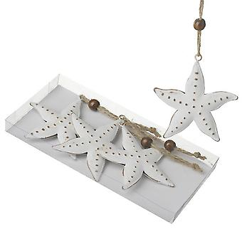 Star Hanging Decoration (4 Pieces)