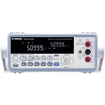 GW Instek GDM-8342USB Bench multimeter Digital CAT II 600 V Display (counts): 50000