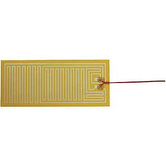 Riscaldamento di poliestere termo stagnola autoadesiva 24 Vdc, 24 V AC 25 W IP valutare IPX4 (L x P) 300 x 130 mm