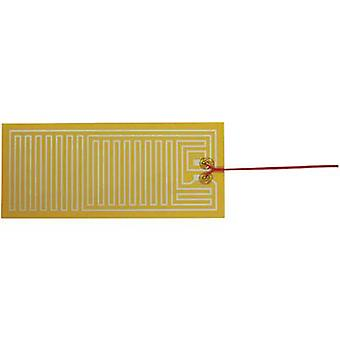 Chauffage de Polyester thermo clinquant auto-adhésif 24 Vdc, 24 V AC 25 W IP notation IPX4 (L x P) 300 x 130 mm