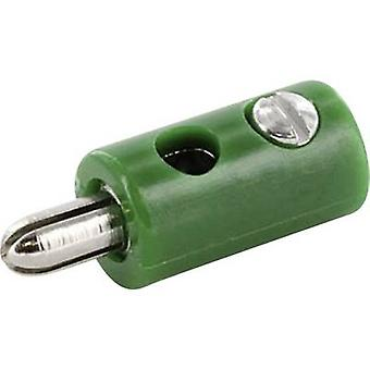 econ connect HOSGN Jack plug Plug, straight Pin diameter: 2.6 mm Green 1 pc(s)