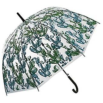 Straight Clear Umbrella Cacti Light Green
