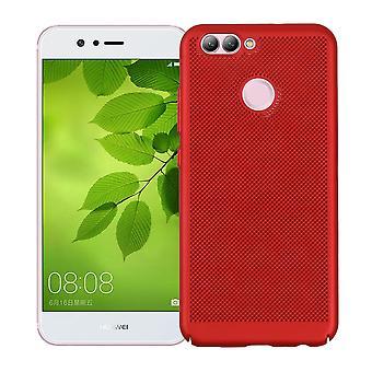 Mobile Shell voor Huawei Nova 2 mouw zaak tas cover case rood