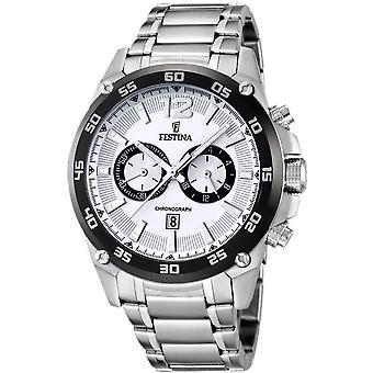 Festina mens watch sports chronograph F16680-1