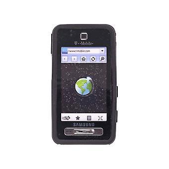 Premium siliconen Gel Case voor Samsung SGH-T919, zwarte Zie