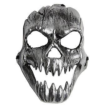 Skull Maske Böse Horror Totenkopf Accessoire Karneval Fasching