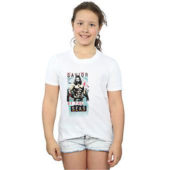 DC Comics tytöt Vesimies Vapahtaja Seas t-paita