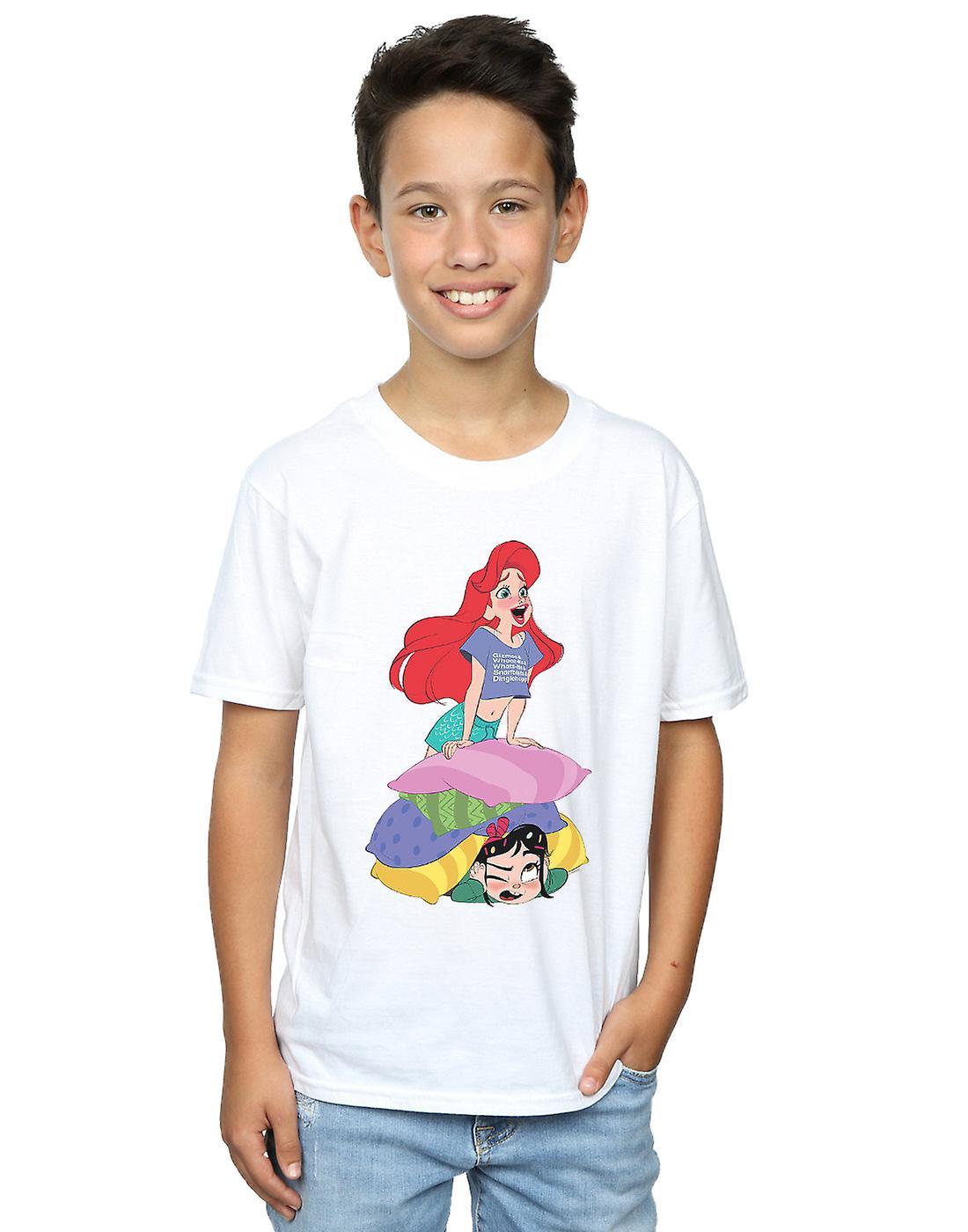 Disney Boys Wreck It Ralph Ariel And Vanellope T-Shirt
