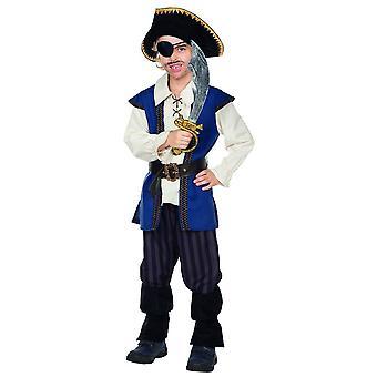 Pirat Jack kostume størrelse 104 børn carnival karneval Corsair