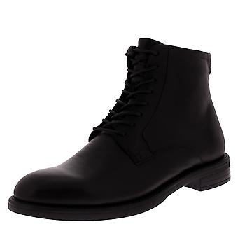 Womens Vagabond Amina Leather Lace Up Block Heel Office Work Ankle Boot