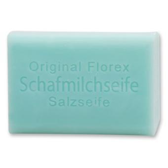 Jabón de leche de oveja Florex - sal - particularmente hidratante también para la limpieza facial 100 g