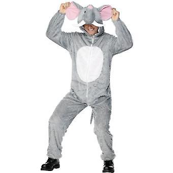 """Слон костюм, грудь 42""""-44 «, ног Inseam 33»"""