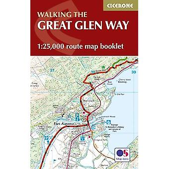 The Great Glen Way Map Booklet - 1 -25 -000 OS Route Mapping by Paddy D
