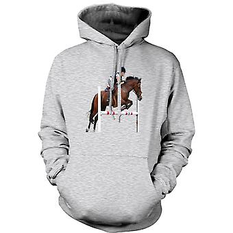 Kids Hoodie - Show Jumping Horse