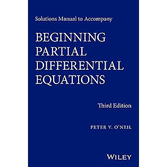 Solutions Manual to Accompany Beginning Partial Differential Equation
