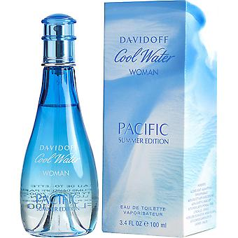 Davidoff Cool water vrouw Pacific Summer EDT 100ML