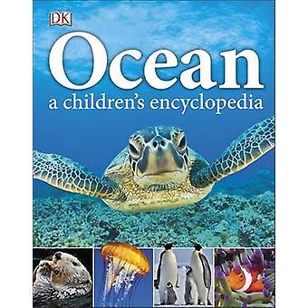 Enciclopédia do oceano A infantil por DK - 9780241185520 livro