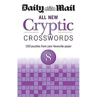 Daily Mail All New Cryptic Crosswords 8 (The Daily Mail Puzzle Books)