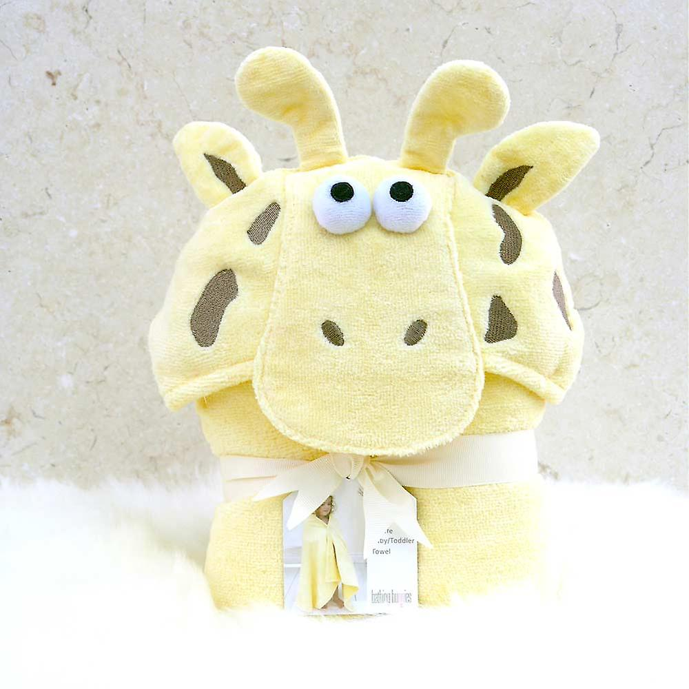 Gentle Giraffe toddler towel
