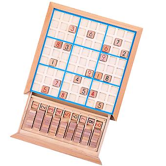Bigjigs Toys Wooden Sudoku Game - Educational Learning Number Toy