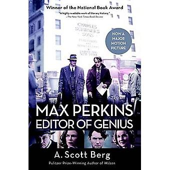 Max Perkins - Editor of Genius by A Scott Berg - 9780399584831 Book