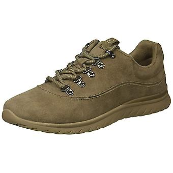 Easy Spirit Womens Chilly Leather Low Top Lace Up Fashion Sneakers