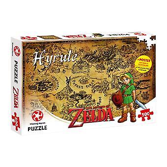 Legende van Zelda Hyrule veld 500 stuk puzzel