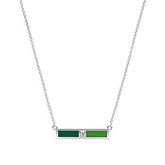 Stetson University Diamond hängsmycke halsband i Sterling Silver design av BIXLER