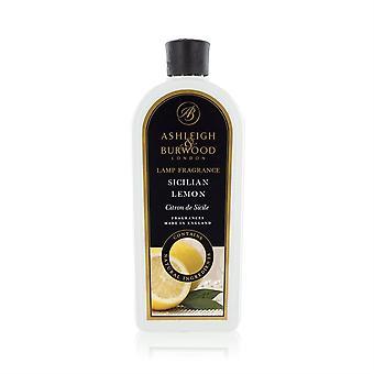 Ashleigh & Burwood 1 liter (1000ml) Premium duft diffusion lampeolie refill flaske siciliansk citron