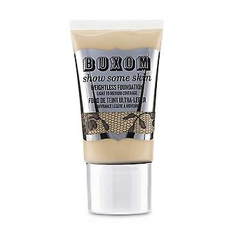 Buxom Show Some Skin Weightless Foundation - # Tickle The Ivory 45ml/1.5oz