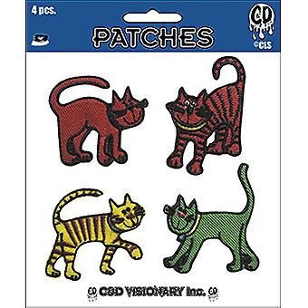 Patch - C&D - Strole Cheri Cats Set of 4 New Gifts p-cs-0005-s