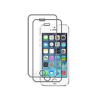2pcS強化ガラスiPhone 5/5C / 5S & iPhone SEスクリーン保護小売