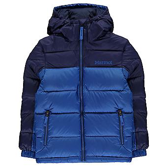 Marmot Boys Guides Down Veste à capuchon Junior Long Sleeve Puffer Quilted Top Kids