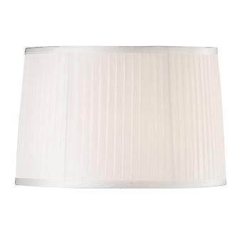 Diyas Willow Fabric Shade White 360/400mm X 260mm