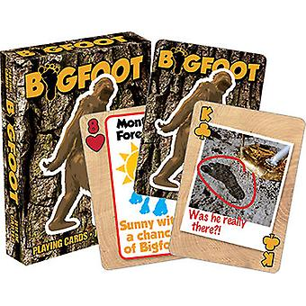 Playing Card - Bigfoot - Poker Card Game New Licensed 52346