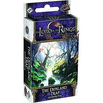 O Senhor dos anéis a expansão do jogo de cartas o Dunland Trap Adventure Pack