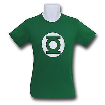 Zielona Latarnia Hal Jordan Distressed Logo Men's T-Shirt