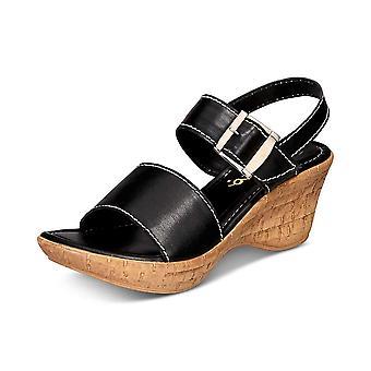 Callisto Womens shelton Open Toe Casual Ankle Strap Sandals