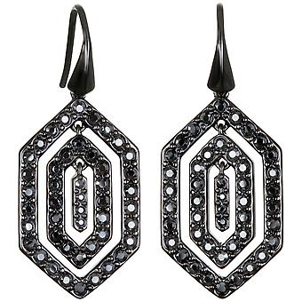 Karl Lagerfeld Woman Alloy Hematite Earrings 5448402