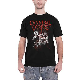 Cannibal Corpse T Shirt Stabhead 2 Band Logo new Official Mens Black