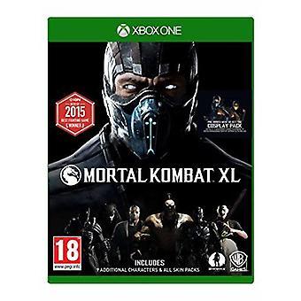 モータルコン バット XL Xbox 1 ゲーム